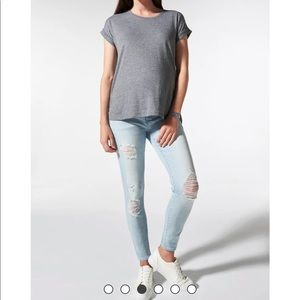 Blanqi Maternity support denim jeans